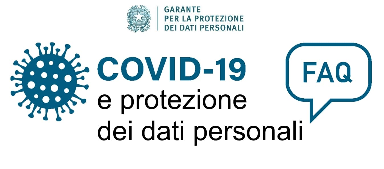 Faq covid 19 garante privacy dario marchese